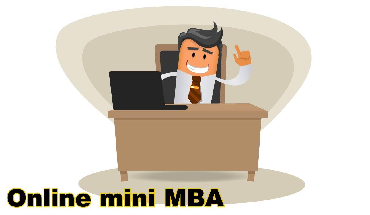 Online mini MBA
